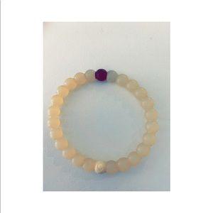 White Lokai Bracelet - Size Medium